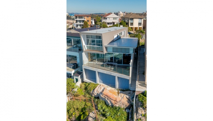 Queenscliff House Aerial