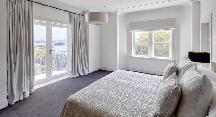 Point Piper Apartment Bedroom