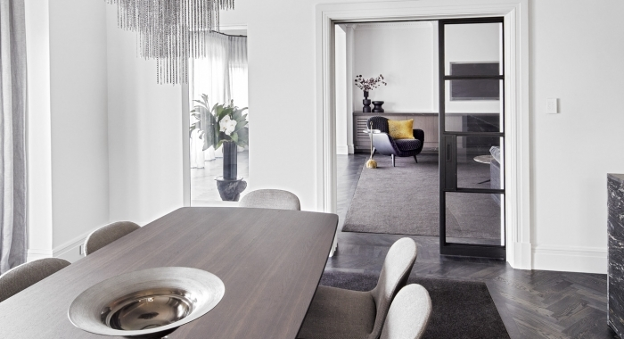 Point Piper Apartment Dining room