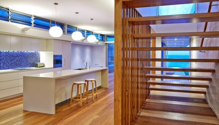 Mona Vale House Kitchen and Staircase