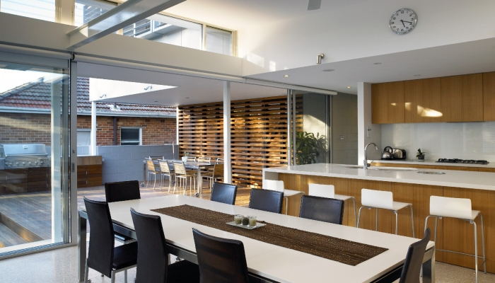 Manly House Integration of Exterior and Interior
