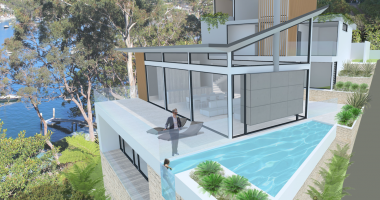 Render used for real estate advertising