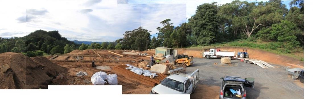 Building in Kangaroo Valley Again