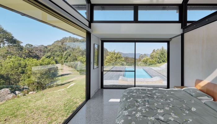 Kangaroo Valley House bedroom