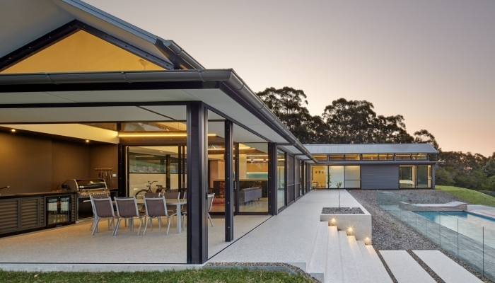 Kangaroo Valley House Outdoor Entertaining