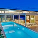 Whale Beach House Pool, Evening
