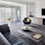 Point Piper Apartment Living area