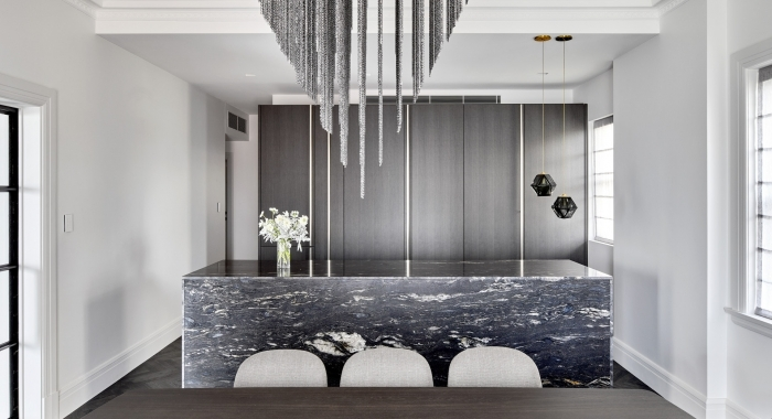 Point Piper Apartment Kitchen