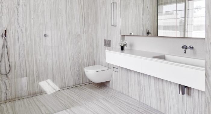 Point Piper Apartment Bathroom