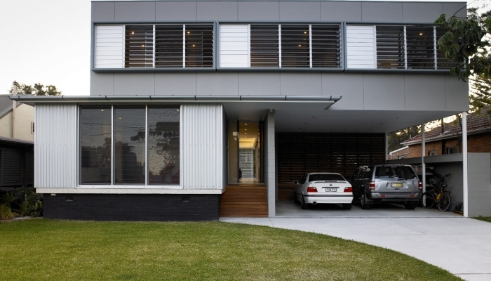 Manly House Exterior