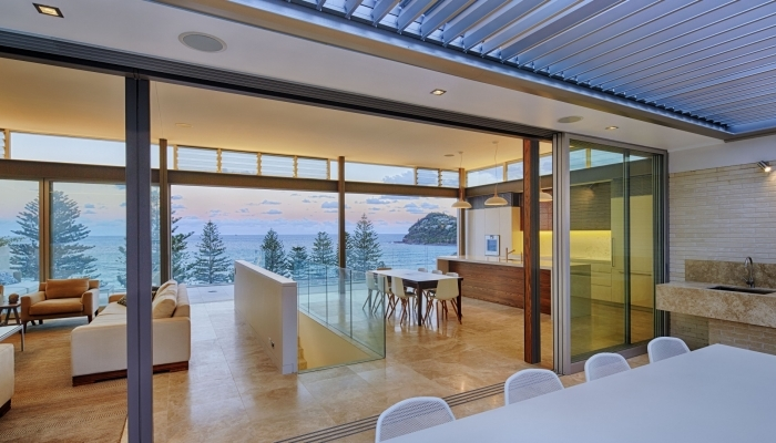 Whale Beach House Outdoor, Living, Kitchen