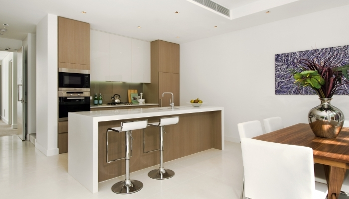 Carabelle Apartments kitchen