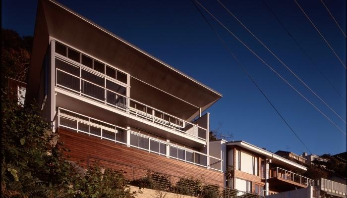Whale Beach House Garden Elevation